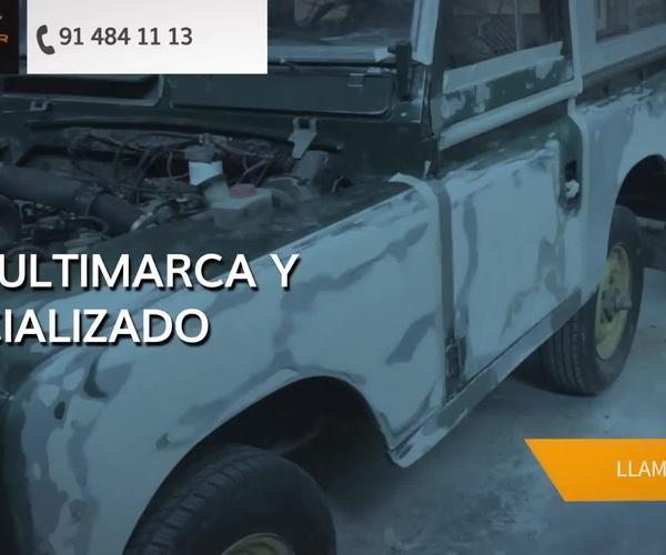 Taller de chapa y pintura en Alcobendas | Nascar Auto