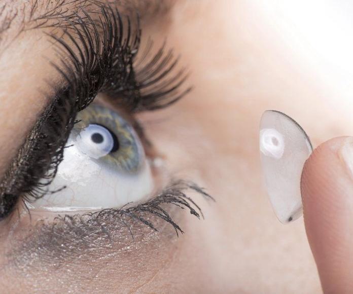 Lentes de Contacto: Servicios de Morales Ópticos