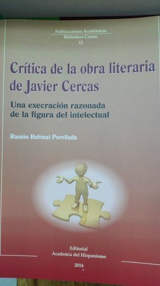 Critica de la obra literaria de Javier Cercas|default:seo.title }}