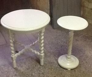 Mesa y peana