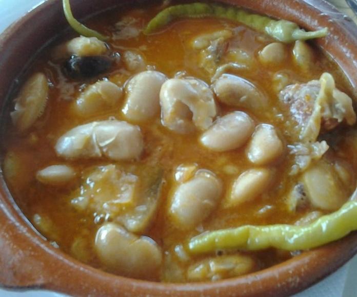 Guisos : Carta de Restaurante Veracruz