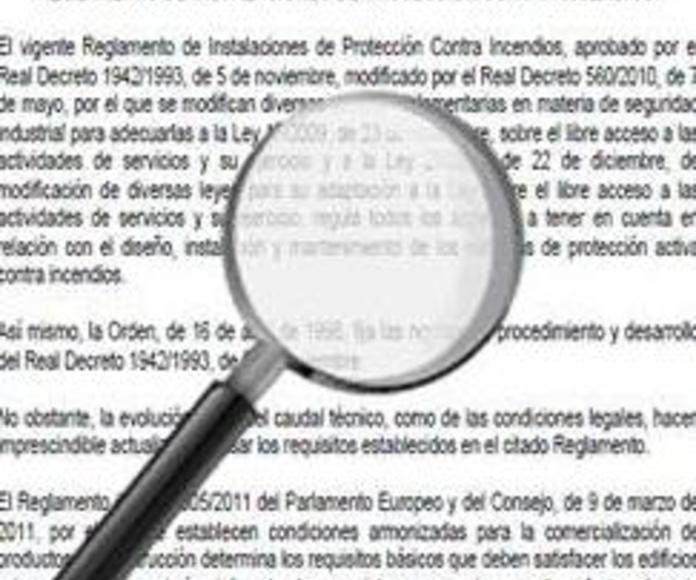 PROYECTO DEL NUEVO REGLAMENTO DE INSTALACIONES DE PROTECCIÓN CONTRA INCENDIOS (RIPCI)