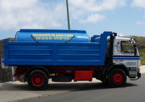 Servicio de agua en Gran Canaria | Cubas de Agua Ojeda