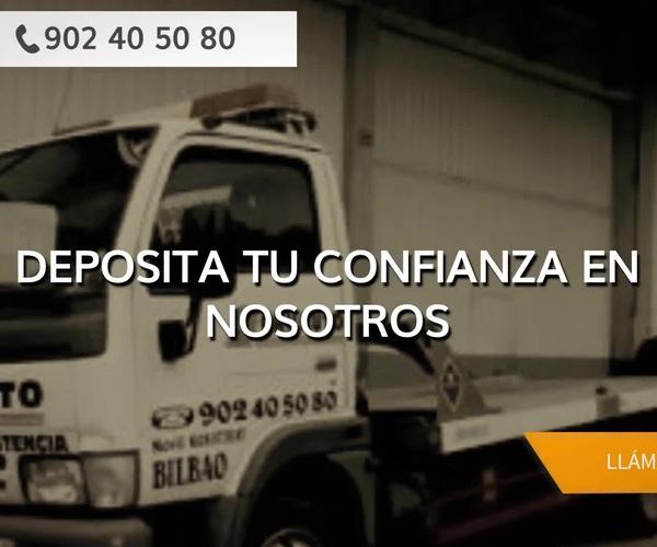 Servicio de grúas en Bilbao   Gruauto Asistencia