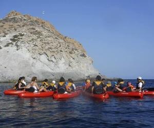 Rutas en kayak por el Parque Natural Cabo de Gata - Níjar