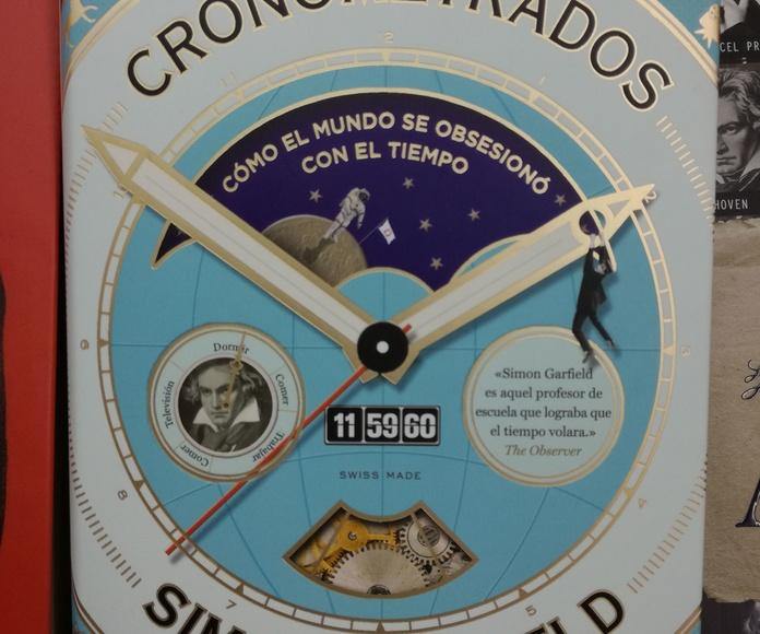 CRONOMETRADOS : SECCIONES de Librería Nueva Plaza Universitaria