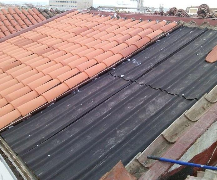 Rehabilitación tejados: Servicios de SanReforma