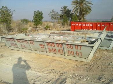 Alquiler de contenedores Murcia
