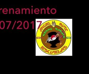 Entrenamiento deportes de contacto Ángel Ruiz, campeón mundial de kenpo en 2013, 2015, 2016 y 2017