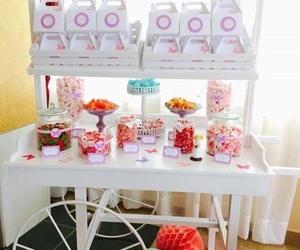 Mesa de dulces para cumpleaños