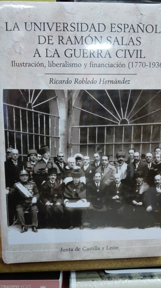 La Universidad Esapñola de Ramon Salas a la Guerra Civil default:seo.title }}