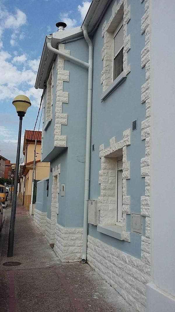 Trabajos de gran calidad en reformas y revestimiento de fachadas de piedra en Logroño