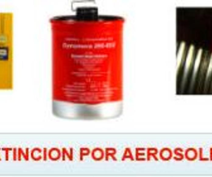 Extinción automática por aerosol: SERVICIOS  de Ignifugaciones Lotor