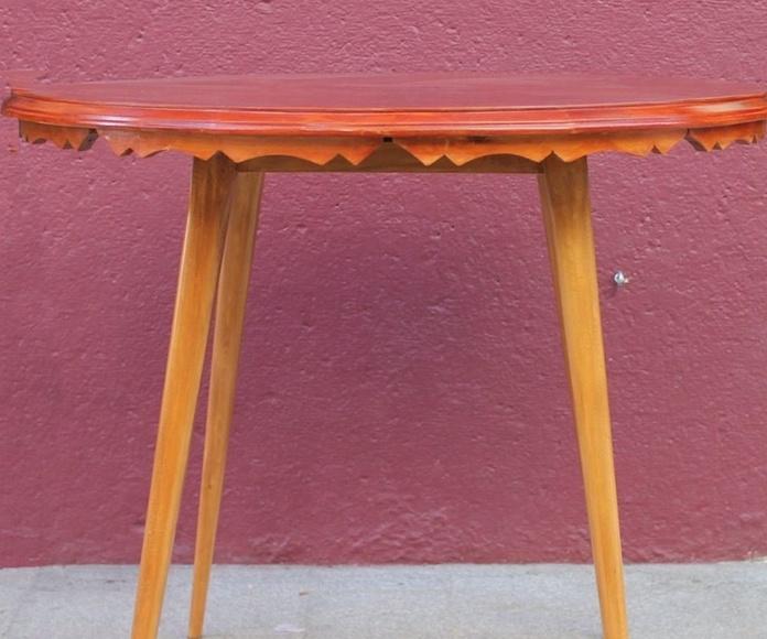 Mesa de madera años 50: Artículos  de Ruzafa Vintage