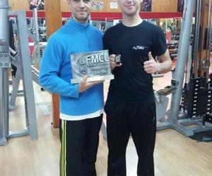 En nuestro gimnasio se entrena Diego Grande, piloto y campeón de Supermotard