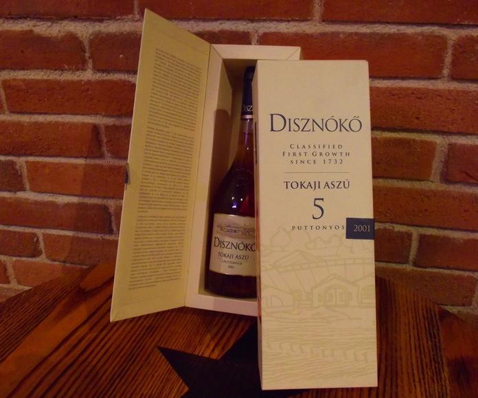 TOKAJI ASZU 5 Puttonyos  Disznoko 2001: Catálogo de  López Pascual