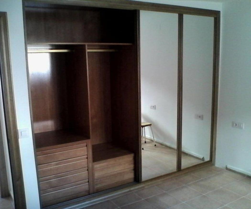 Diferentes tipos de puertas para los armarios empotrados