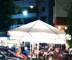New lighting in the Sevillano terrace in Chaparil