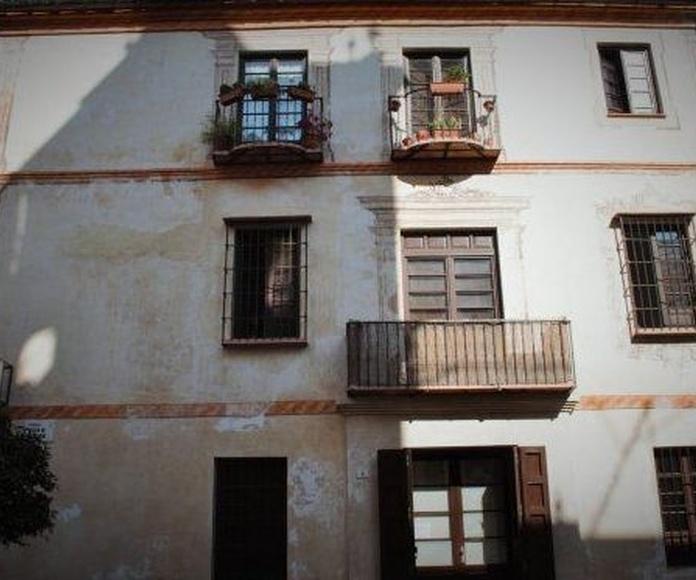 Proponen proyectar vídeos en fachadas de Málaga con pinturas murales para realzar su arquitectura