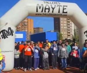 """Patrocinado por Talleres Mayte """"X Cross infantil y carrera por la discapacidad en Leganés"""""""