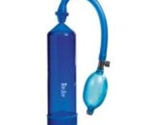 Bomba de erección azul - Pressure pleasure pump rock hard blue