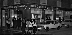 Inauguración tienda 1975