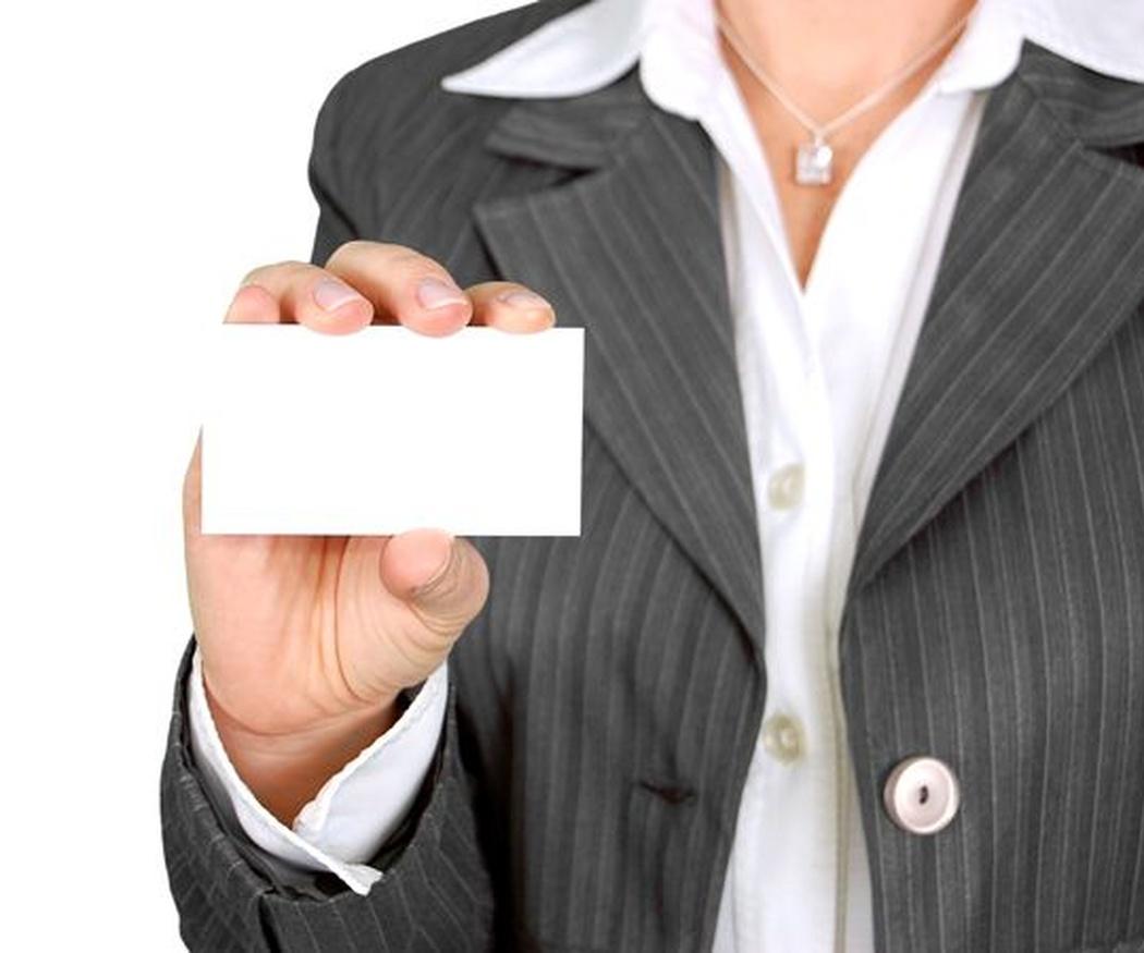 Consejos para diseñar una tarjeta de visita