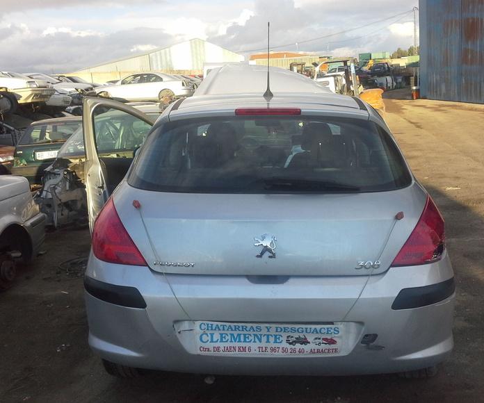 Peugeot 308 para desguace en desguaces clemente de albacete