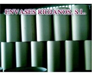 Envases cilíndricos de papel encolado