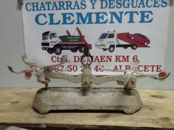 Balanza antigua en chatarras clemente de Albacete|default:seo.title }}