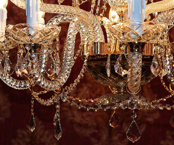 Lampara veneciana 12 brazos : Artículos  de Ruzafa Vintage