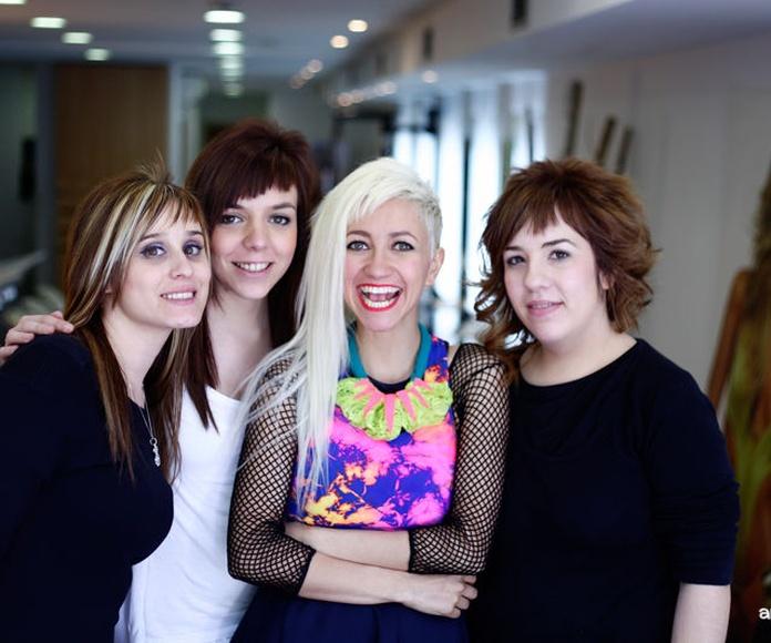 Cambio de look de la blogger Aminta en Llongueras Mirasierra