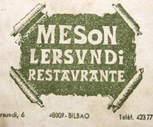 Restaurante típico en Bilbao | Mesón Lersundi Restaurante