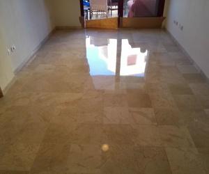 Cristalización de pavimentos
