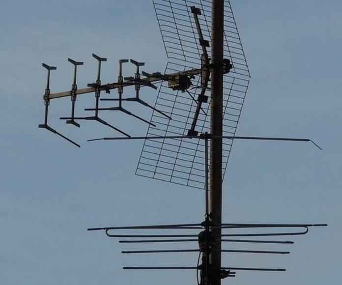 Antenas: Catálogo de Electrónica A.R.M.