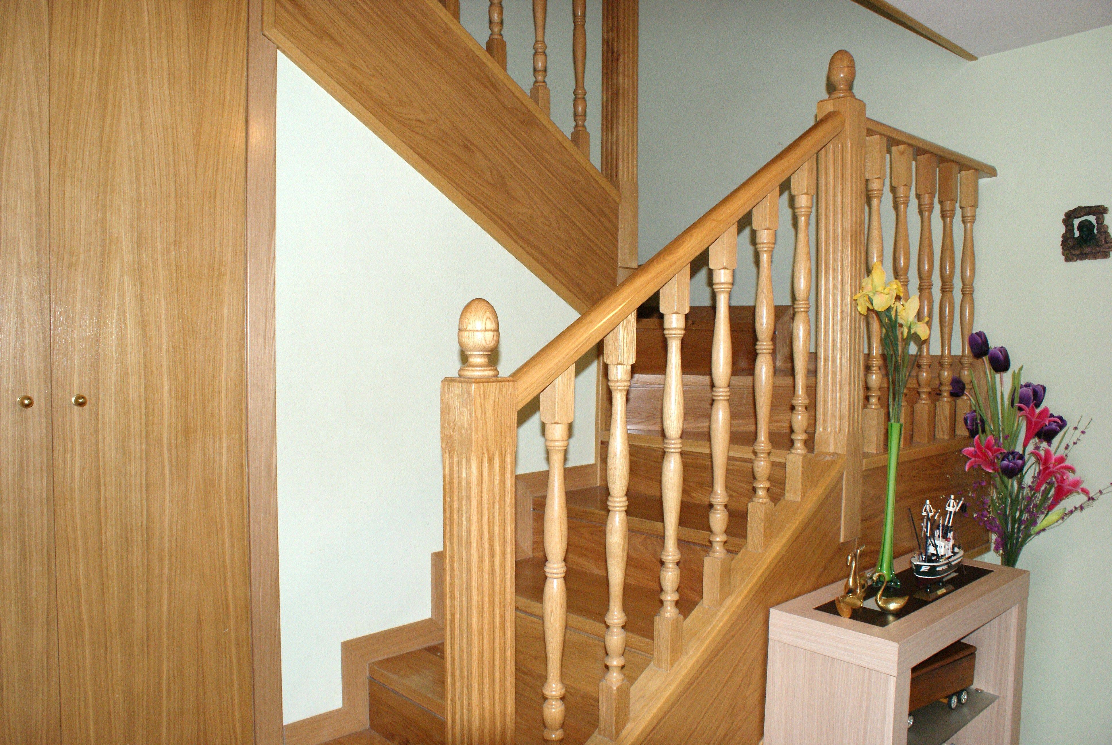 escaleras de madera a medida catlogo de carpintera madera y arte