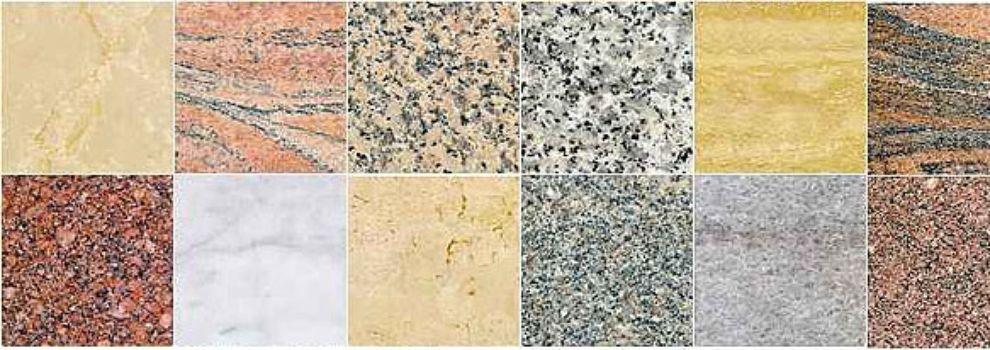 Petroleos y aglomerantes for Materiales de construccion marmol