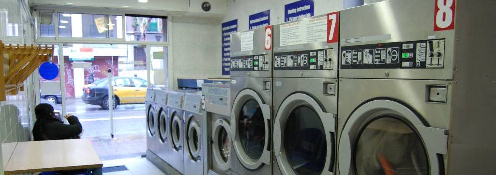 Drycleaners and laundries in Barcelona | Bugaderia Wash'n Dry