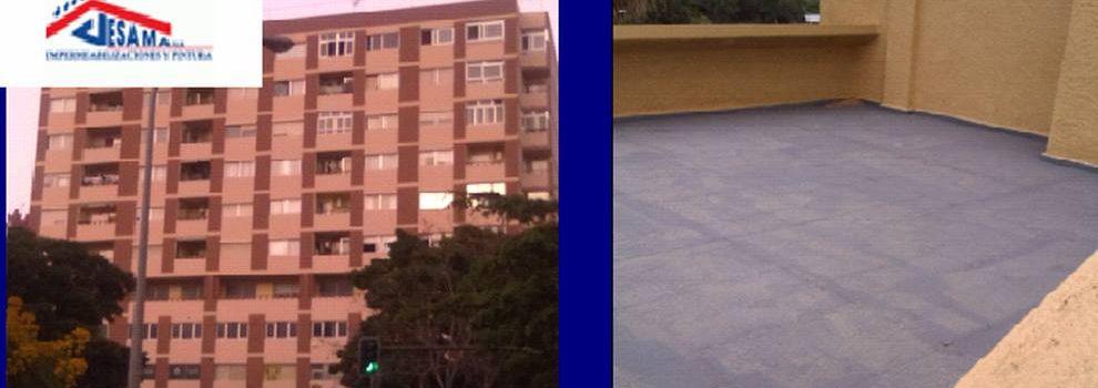 Empresas de impermeabilización en Tenerife | Jesama