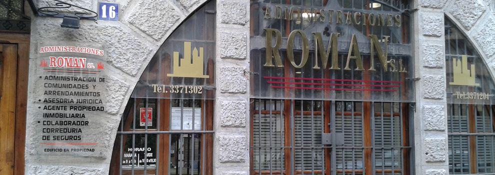 Agente de la propiedad inmobiliaria en Valencia | Administraciones Román, S.L.