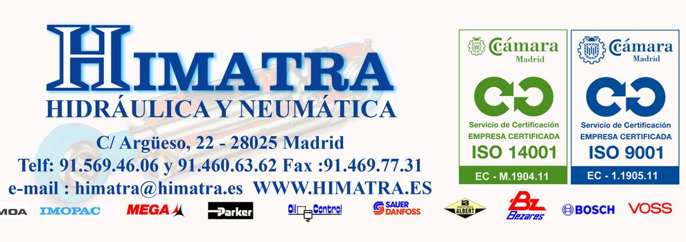 Hydraulic and pneumatic machinery in Madrid | Himatra