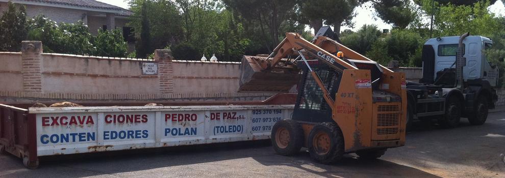 Excavaciones en Polán   Excavaciones Pedro de Paz