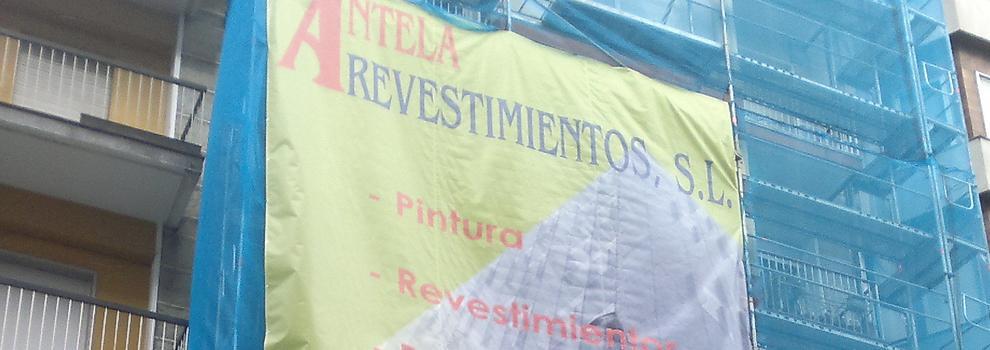 logotipo de PINTURAS E REVESTIMIENTOS ANTELA SL
