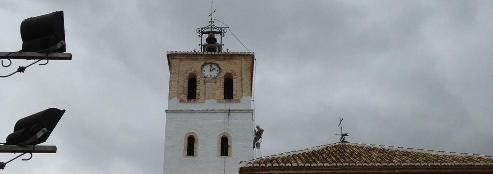 Trabajos en altura en Granada | Solver Soluciones Verticales