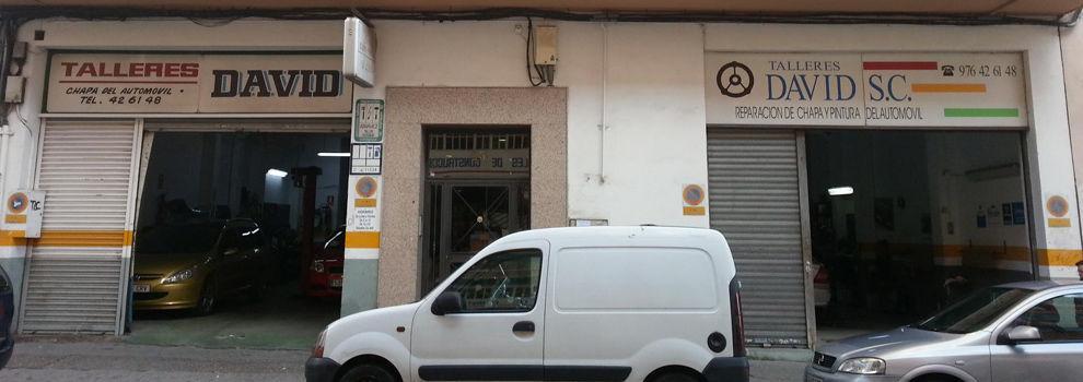 Talleres de chapa y pintura en Zaragoza | Talleres David