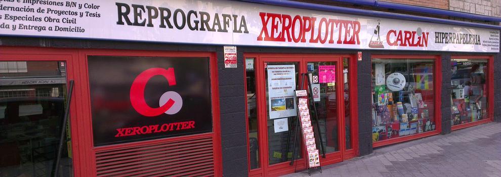 Reprografía en Madrid | Carlin - Xeroplotter