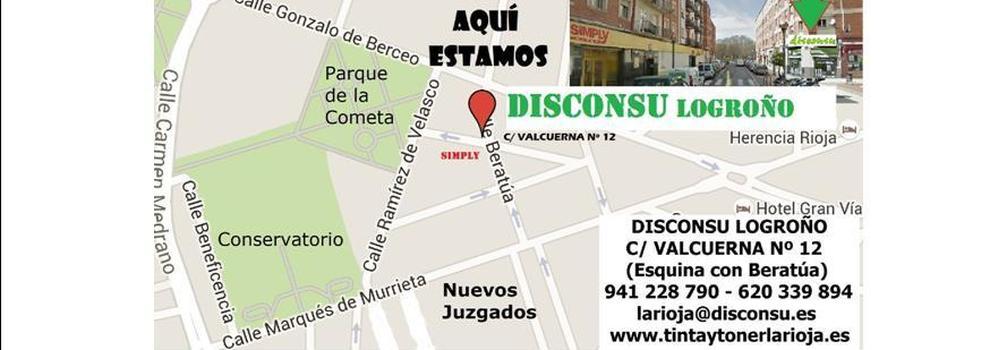 Accesorios para informática en Logroño | Disconsu Logroño