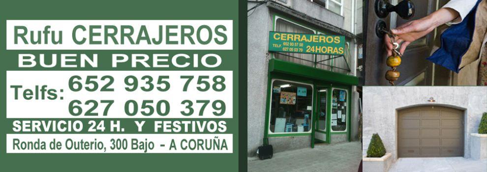 Cerrajeros baratos en A Coruña | Rufu Cerrajeros