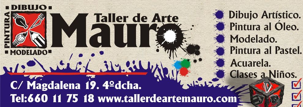 Clases de dibujo y pintura en Oviedo | Taller de Arte Mauro