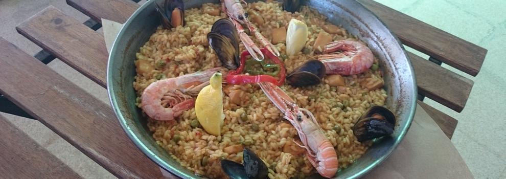 Restaurante mediterráneo con terraza en Tarragona